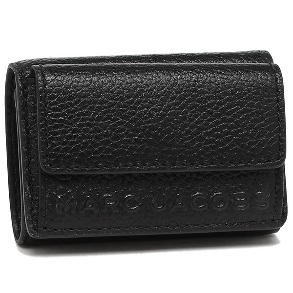 MARC JACOBS 折財布 レディース マークジェイコブス M0015111 001 ブラック