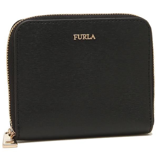 FURLA 折財布 アウトレット レディース フルラ 907856 PR84 B30 O60 ブラック
