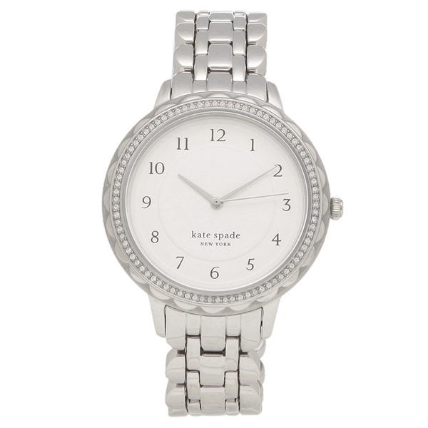 KATE SPADE 腕時計 レディース ケイトスペード KSW1551 38MM シルバー
