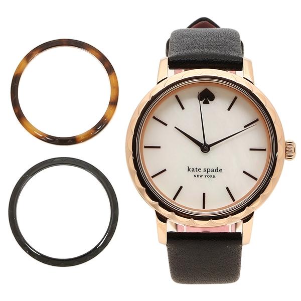 KATE SPADE 腕時計 レディース ケイトスペード KSW1556 34MM ブラック