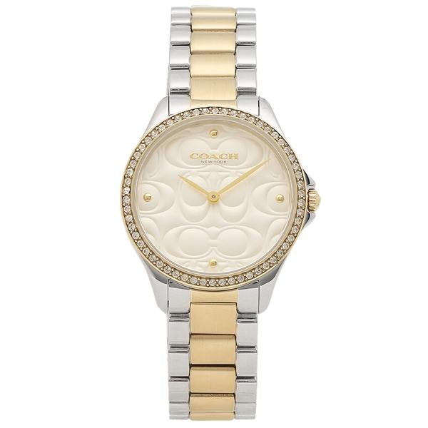 COACH 腕時計 レディース コーチ 14503073 31MM シルバー ゴールド