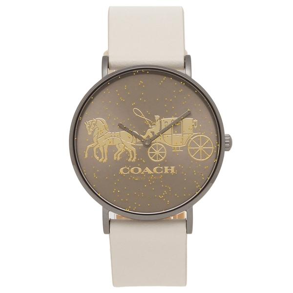 COACH 腕時計 レディース コーチ 14503327 36MM ホワイト ブラウン