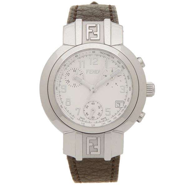 FENDI 腕時計 レディース フェンディ F112100101 32MM ブラウン シルバー