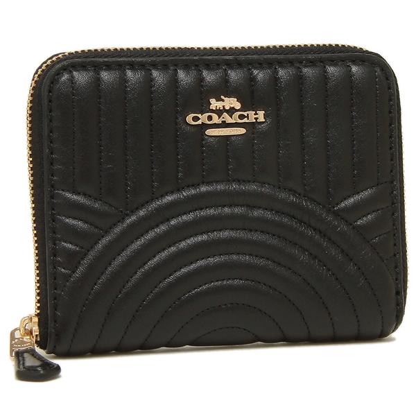 COACH 折財布 アウトレット レディース コーチ F87920 IMBLK ブラック