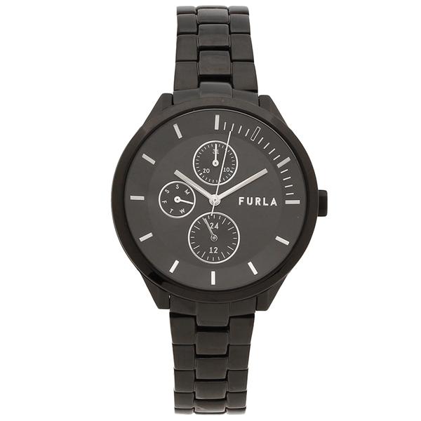 FURLA 腕時計 レディース メンズ フルラ R4253128501 38MM ブラック