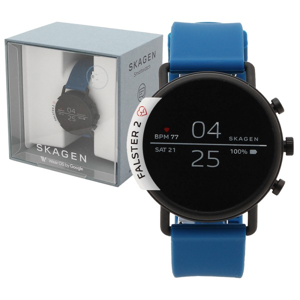 SKAGEN 腕時計 スマートウォッチ レディース スカーゲン SKT5112 ブルー