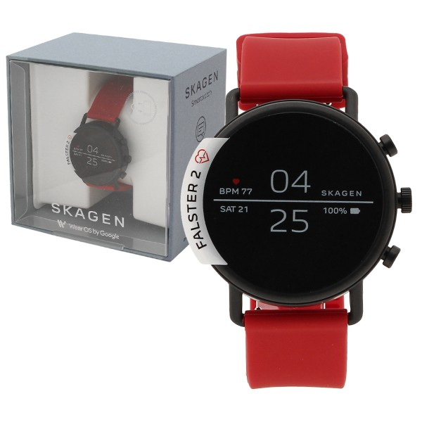 SKAGEN 腕時計 スマートウォッチ レディース スカーゲン SKT5113 レッド