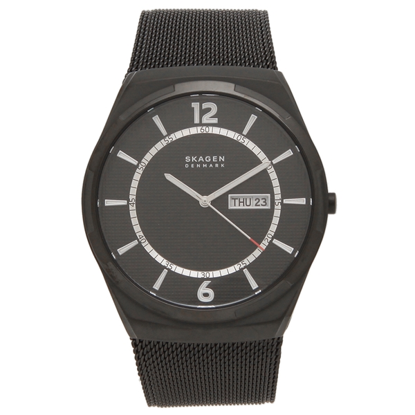 SKAGEN 腕時計 メンズ スカーゲン SKW6576 45MM ブラック