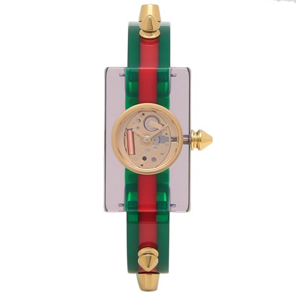 GUCCI 腕時計 レディース グッチ YA143504 グリーン レッド