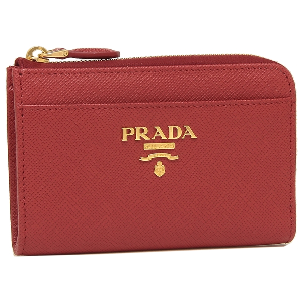 プラダ キーケース コインケース レディース PRADA 1PP122 QWA F068Z レッド