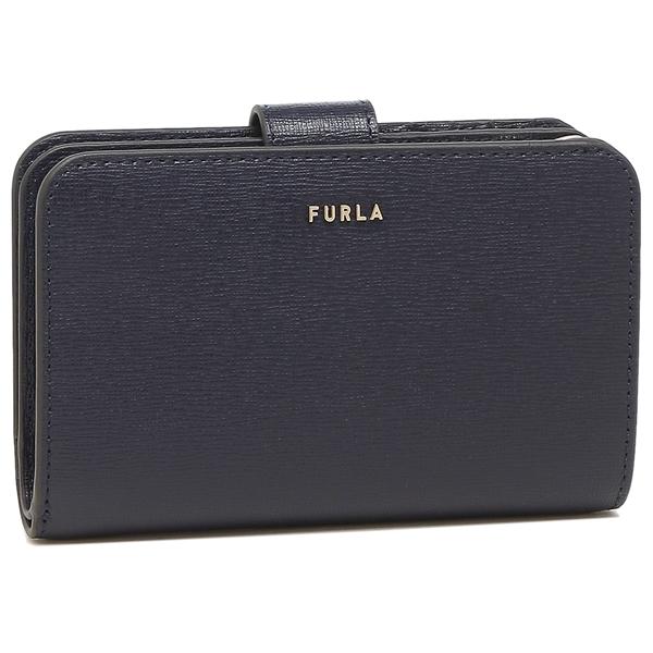 FURLA 折財布 レディース フルラ 1057134 PCX9 B30 07A ネイビー