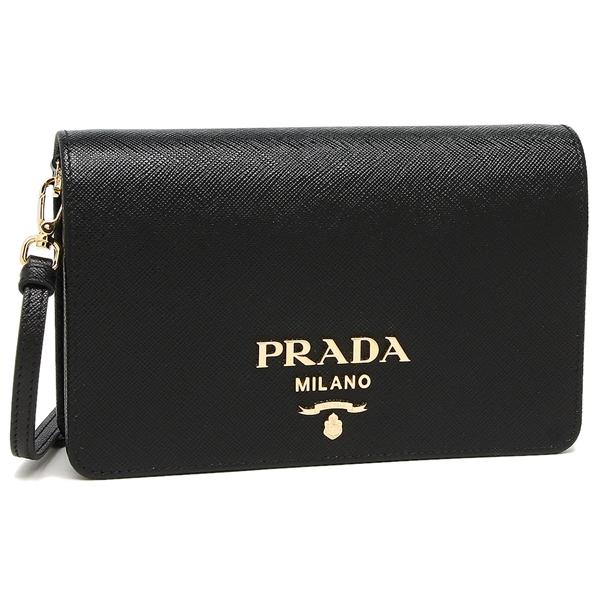 PRADA ショルダーバッグ レディース プラダ 1BP019 NZV F0002 ブラック