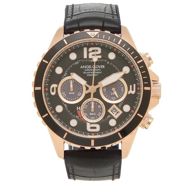 ANGEL CLOVER 腕時計 メンズ エンジェルクローバー TCD45PBK-BK 45MM ブラック