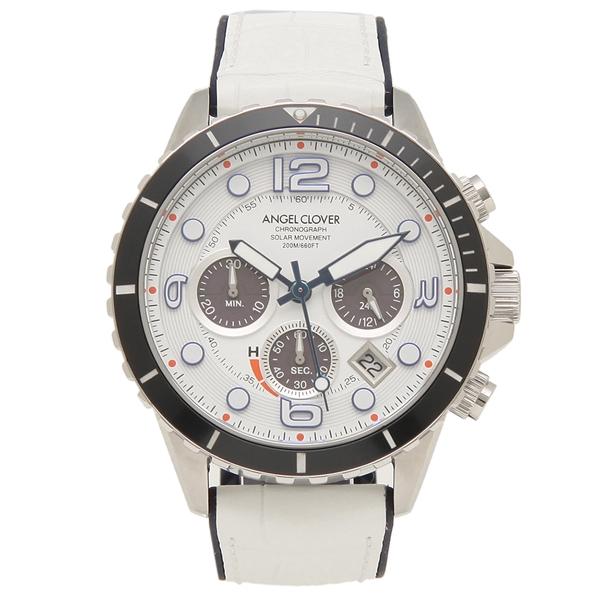 ANGEL CLOVER 腕時計 メンズ エンジェルクローバー TCD45SWH-WH 45MM ホワイト