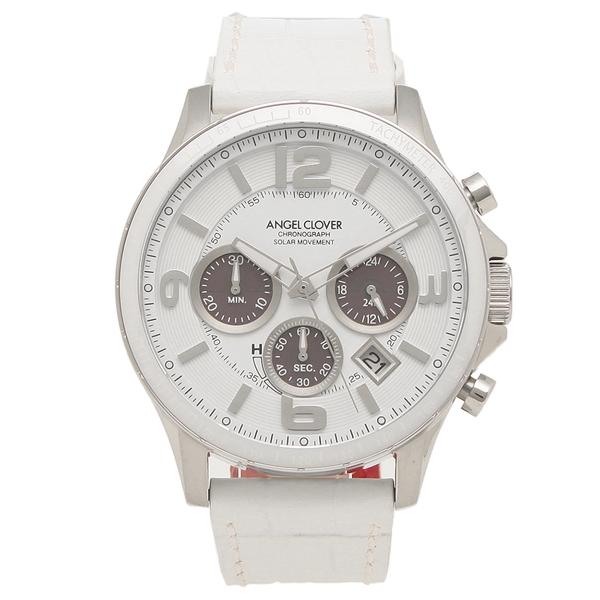 ANGEL CLOVER 腕時計 メンズ エンジェルクローバー TCS44SWH-WH 44MM ホワイト