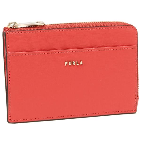 FURLA コインケース カードケース レディース フルラ 1056870 PCZ4 B30 09A レッド