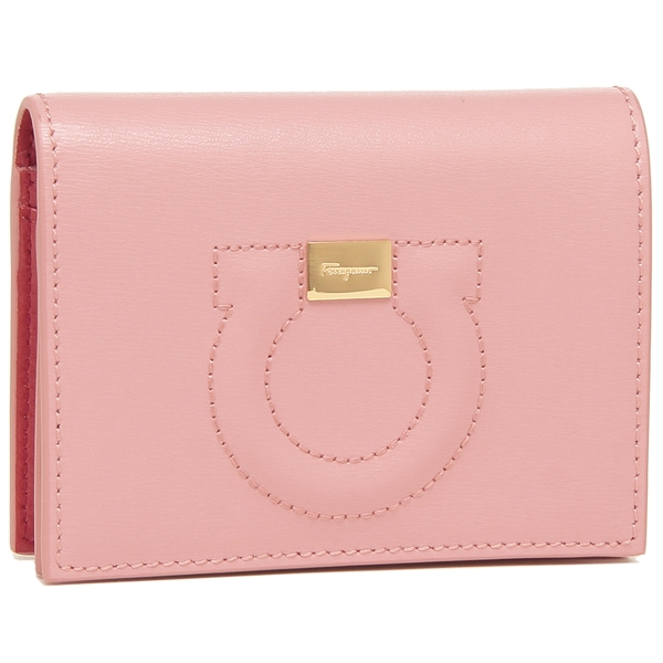 Salvatore Ferragamo 折財布 レディース フェラガモ 22D514 0724147 ピンク