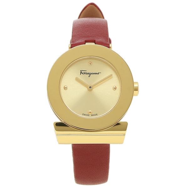 Salvatore Ferragamo 腕時計 レディース フェラガモ SFPD01619 ゴールド レッド