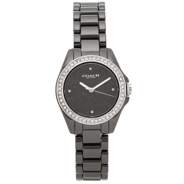COACH 腕時計 レディース コーチ 14503255 28MM ブラック シルバー