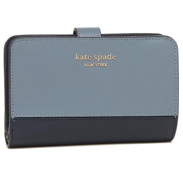 KATE SPADE 折財布 レディース ケイトスペード PWRU7846 419 ライトブルー
