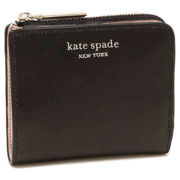 KATE SPADE 折財布 レディース ケイトスペード PWRU7853 001 ブラック