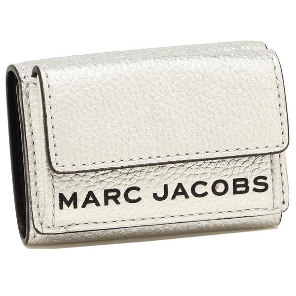 MARC JACOBS 折財布 レディース マークジェイコブス M0016187 045 プラチナ