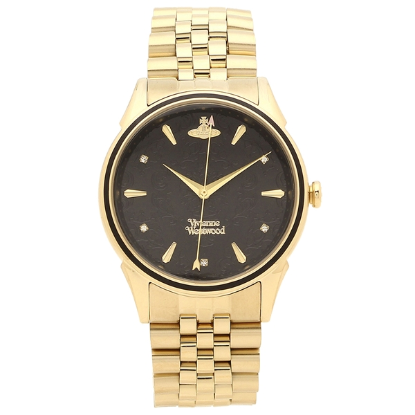 VIVIENNE WESTWOOD 腕時計 レディース ヴィヴィアンウエストウッド VV208GBGD 36MM ゴールド ブラック