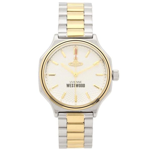 VIVIENNE WESTWOOD 腕時計 レディース メンズ ヴィヴィアンウエストウッド VV227SLGD 37MM シルバー ゴールド