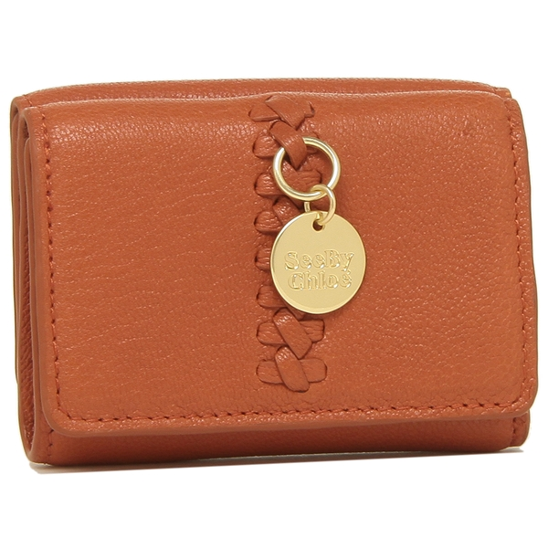 SEE BY CHLOE 折財布 レディース シーバイクロエ CHS20UP915305 654 レッド