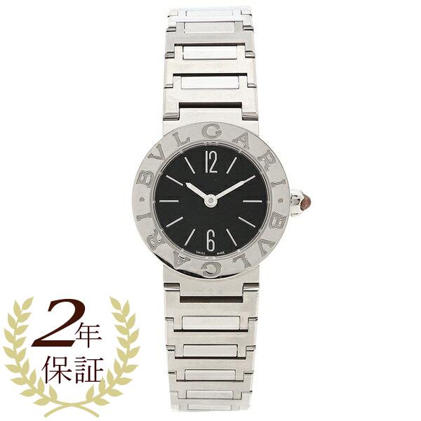 BVLGARI 腕時計 レディース ブルガリ BBL23BSSD 23MM ブラック シルバー