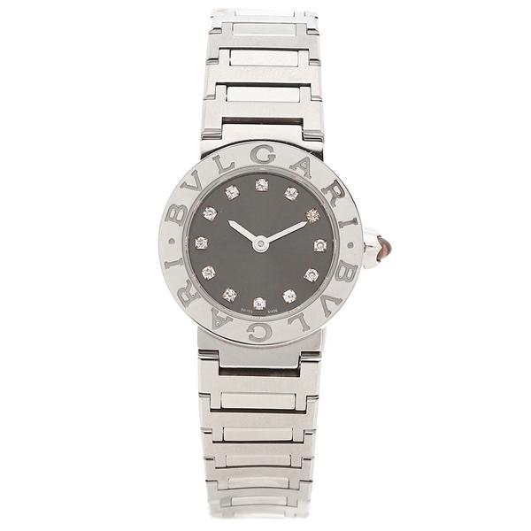 BVLGARI 腕時計 レディース ブルガリ BBL23C6SS/12 23MM グレー シルバー