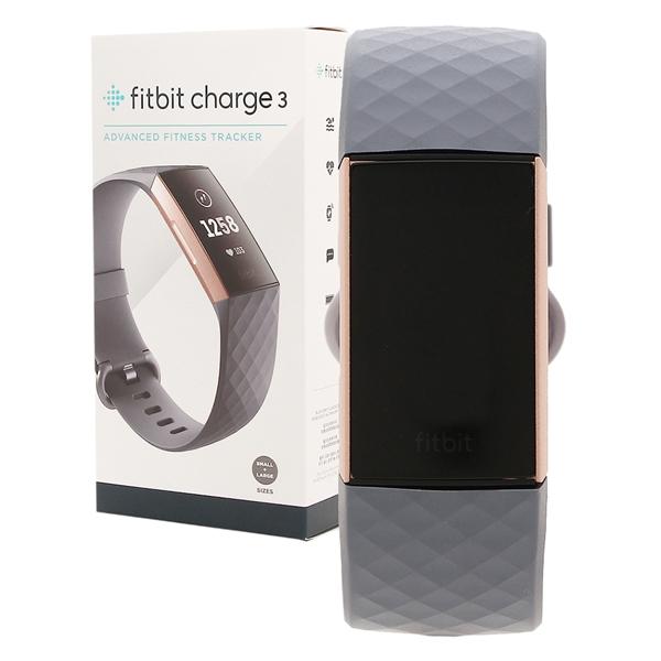 Fitbit 腕時計 スマートウォッチ レディース メンズ フィットビット FB410RGGY ブルーグレー ローズゴールド