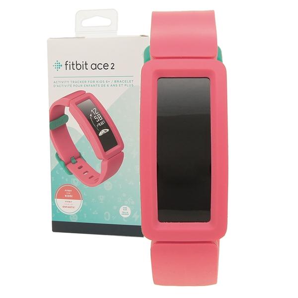 Fitbit 腕時計 スマートウォッチ レディース メンズ フィットビット FB414BKPK オレンジ