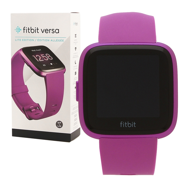 Fitbit 腕時計 スマートウォッチ レディース メンズ フィットビット FB415PMPM パープル