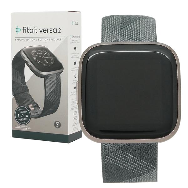 Fitbit 腕時計 スマートウォッチ レディース メンズ フィットビット FB507GYGY グレー ブラック