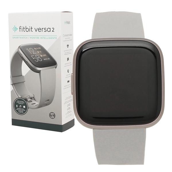 Fitbit 腕時計 スマートウォッチ レディース メンズ フィットビット FB507GYSR グレー