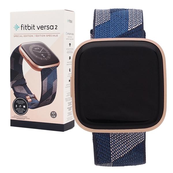 Fitbit 腕時計 スマートウォッチ レディース メンズ フィットビット FB507RGNV ネイビー