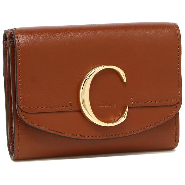 CHLOE 折財布 レディース クロエ CHC19WP088A37 27S ブラウン