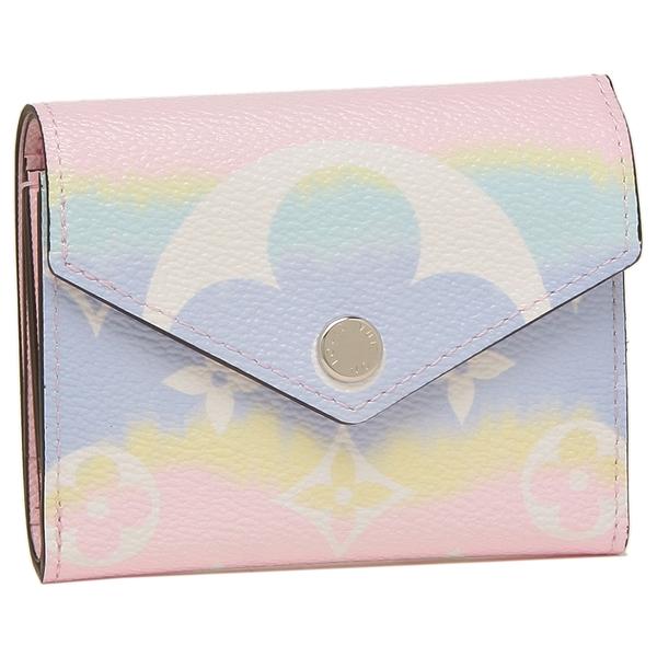 LOUIS VUITTON 折財布 レディース ルイヴィトン M69341 ピンク マルチカラー