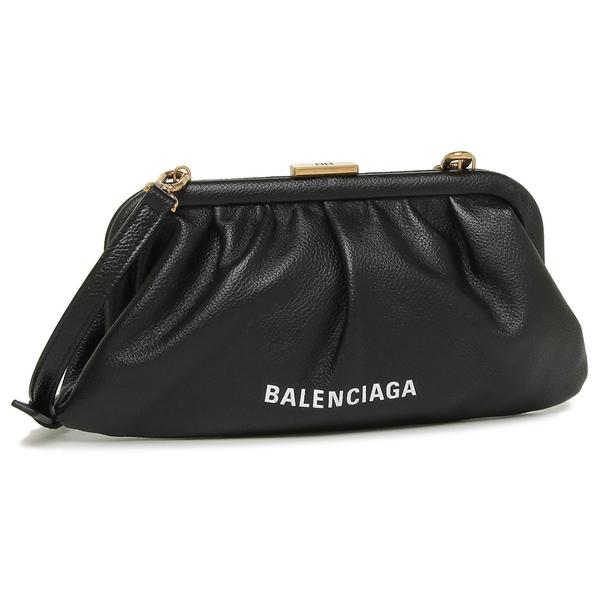 BALENCIAGA ショルダーバッグ クラッチバッグ レディース バレンシアガ 618895 1IZOM 1000 ブラック