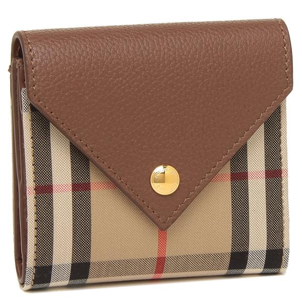 BURBERRY 折財布 レディース バーバリー 8026116 A1363 ブラウン