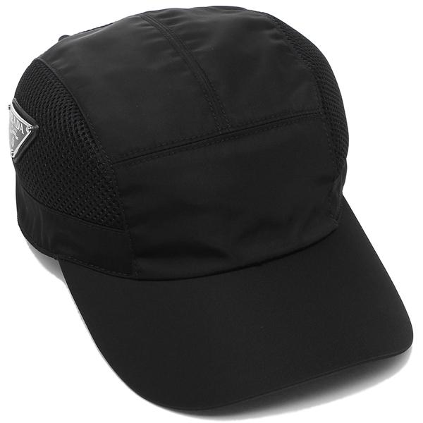 PRADA 帽子 メンズ レディース プラダ 2HC193 ERZ F0002 ブラック