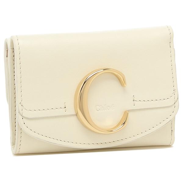 CHLOE 折財布 レディース クロエ CHC19UP058A37 119 ホワイト