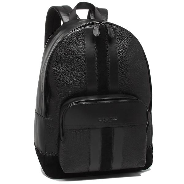 COACH リュック アウトレット メンズ コーチ F49334 QBBK ブラック A4対応