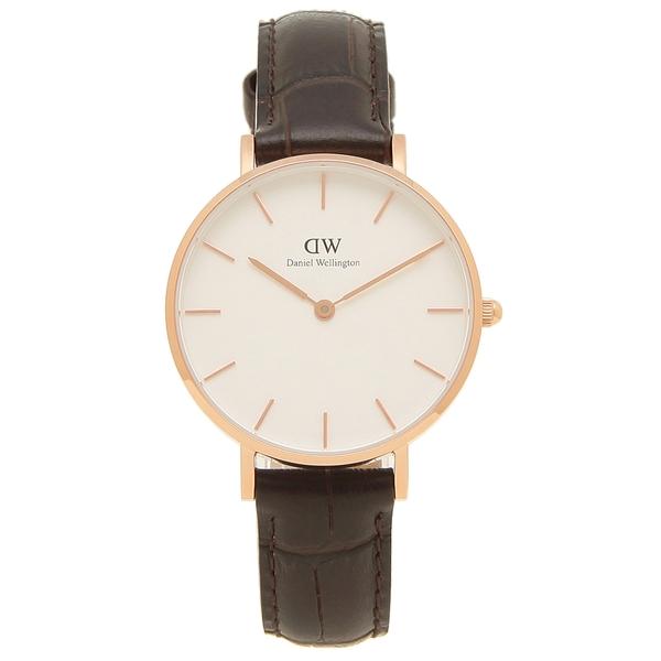 Daniel Wellington 腕時計 レディース メンズ ダニエルウェリントン DW00600176 CLASSIC YORK クラシック ヨーク 32MM ブラウン