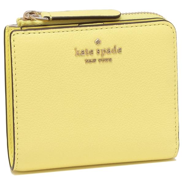 KATE SPADE 折財布 アウトレット レディース ケイトスペード WLRU5471 700 ライトイエローマルチ