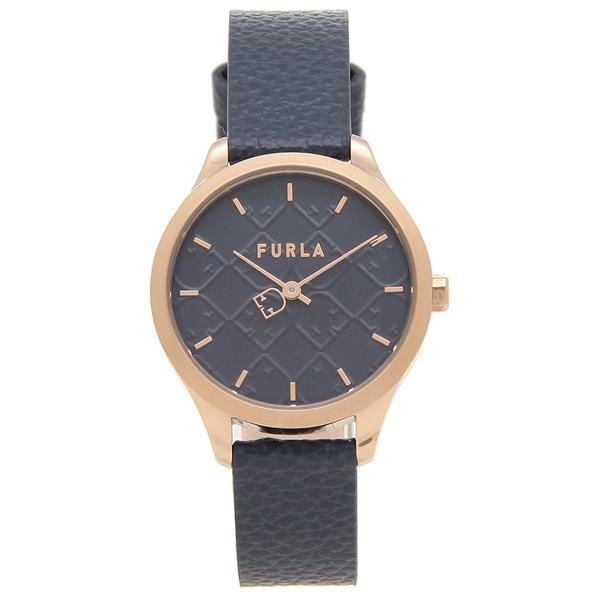 FURLA 腕時計 レディース フルラ R4251131507 ネイビー/ピンクゴールド