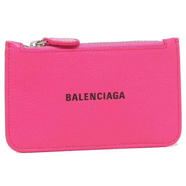 BALENCIAGA カードコインケース メンズ レディース バレンシアガ 594214 1IZ43 5660 ピンク