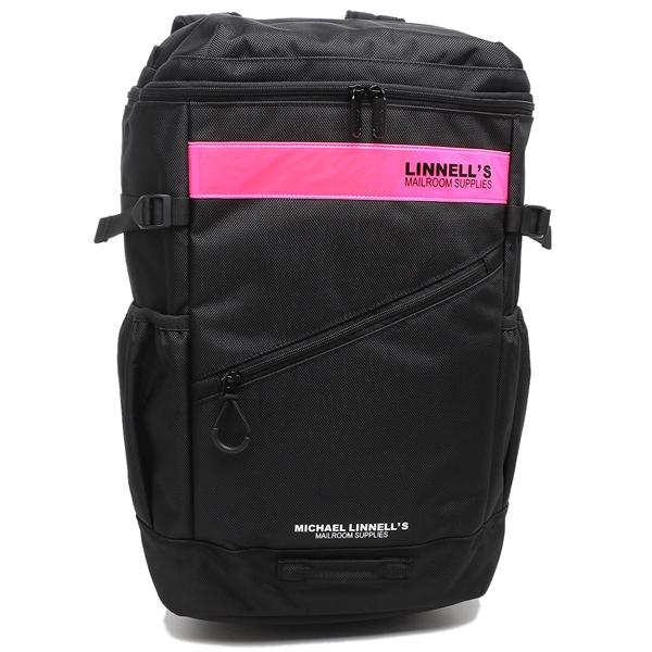 MICHAEL LINNELL リュックサック ユニセックス 32L マイケルリンネル いよいよ人気ブランド 出荷 A4対応 ML-020 ブラック