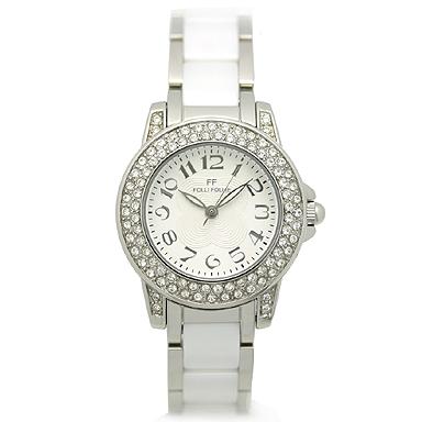 フォリフォリ 時計 FOLLI FOLLIE 腕時計 レディース WF9A020BPS ホワイト/シルバー ウォッチ